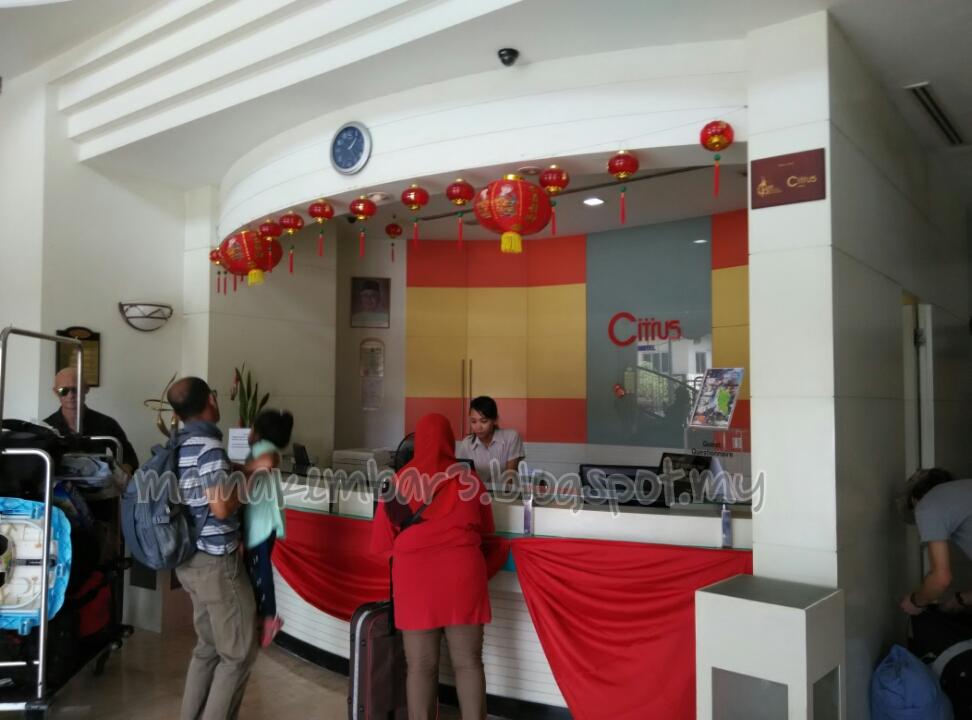 Hotel Citrus Kuala Lumpur Masa Kitorang Sampai Tu Ramai Juga Yang Tengah Check In